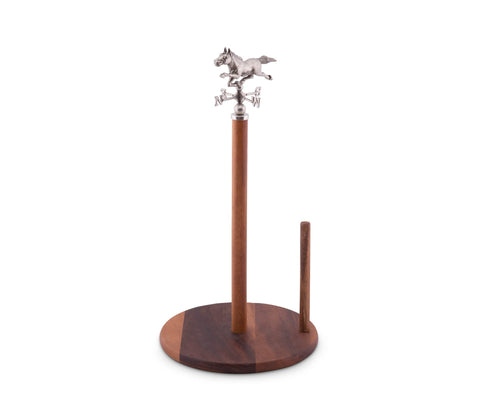 Horse Weather Vane Towel Holder - Vagabond Equestrian Collection