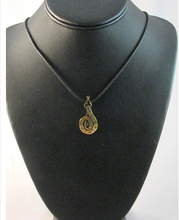 Native American Hopi Made Brass Snake Necklace - Native American Jewelry