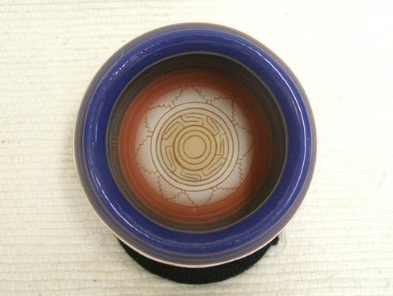Native American Navajo Red Clay Bowl - Inside Outside - Native American Pottery