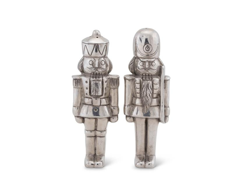 Vagabond House Nutcracker Salt and Pepper Set - Holiday Collection