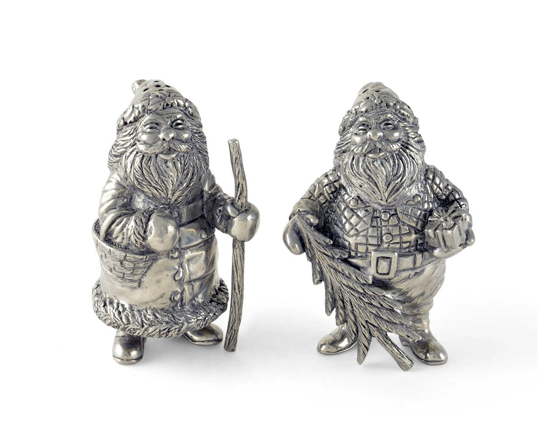 Vagabond House St. Nick Salt & Pepper - Holiday Collection