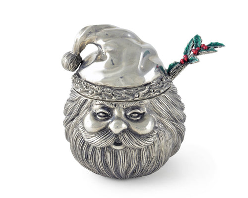 Vagabond House Santa Sugar Bowl - Holiday Collection