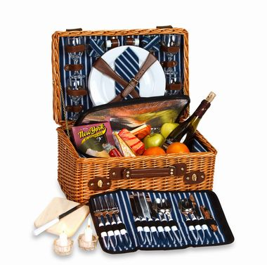 Wynberry 4 Person Picnic Basket from our Picnic Plus line