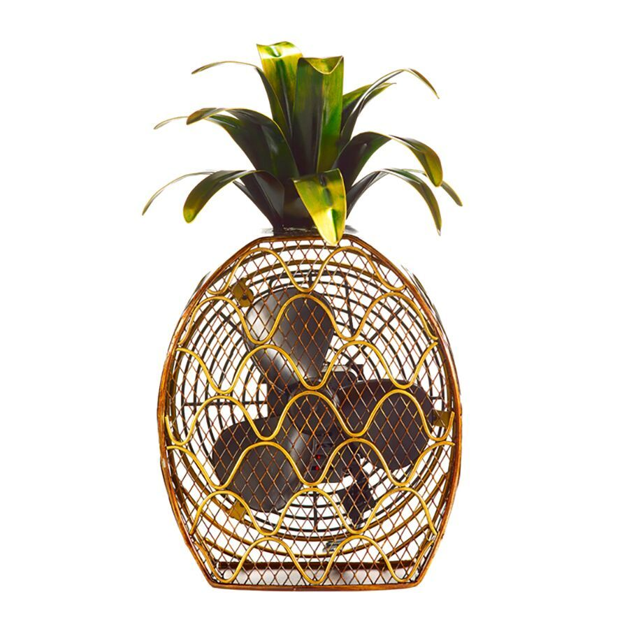 Pineapple Figurine Fan