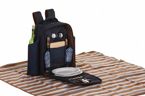 Miller 2 person Picnic Backpack from our Picnic Plus line