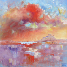 Lindisfarne oil painting by Mary Kemp