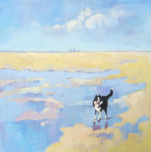 Jaunty Tail. Border Collie. 30 x 30 cm
