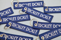 Trolley Dolly Keychain