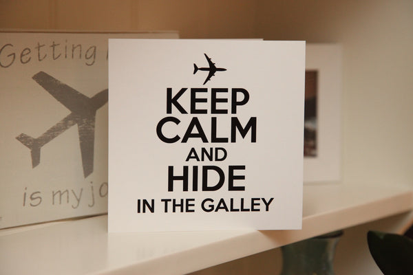 """Hide in the Galley"" Greeting Card"