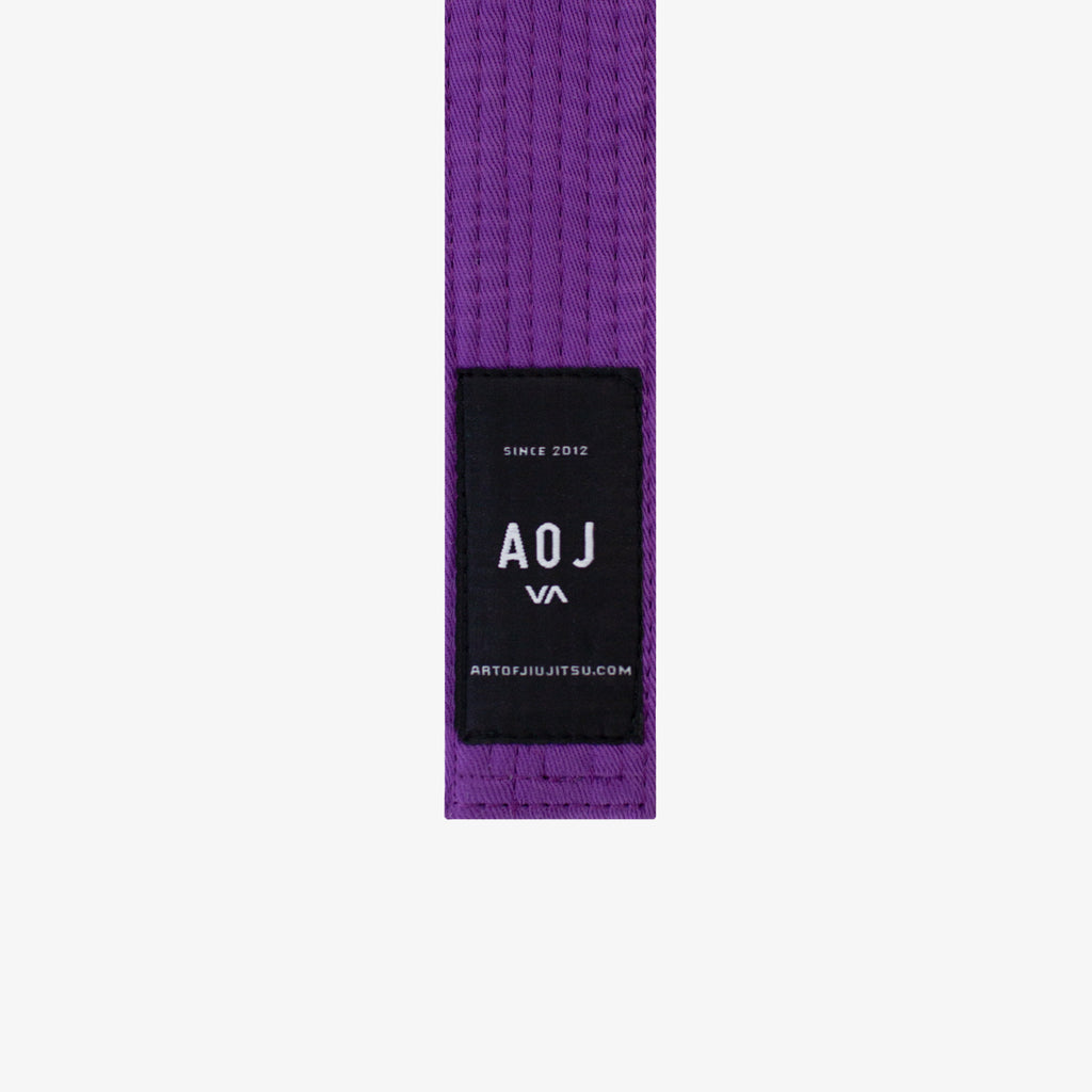STANDARD JIU JITSU BELT (PURPLE)