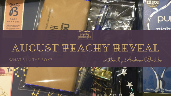 August Peachy Package Reveal