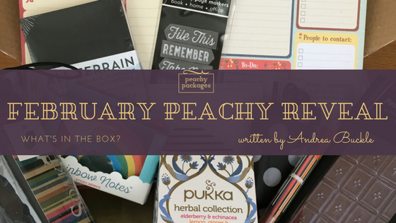 February Peachy Reveal