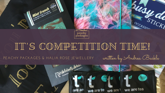 WIN Gorgeous prizes!  Peachy Packages & Halia Rose want to treat you!