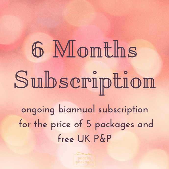 6 Month Peachy Package Subscription