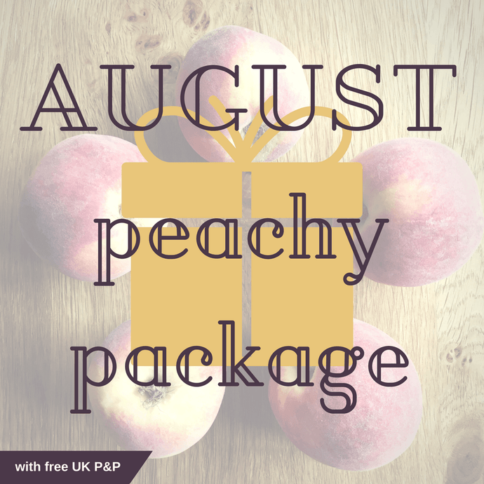 AUGUST peachy package