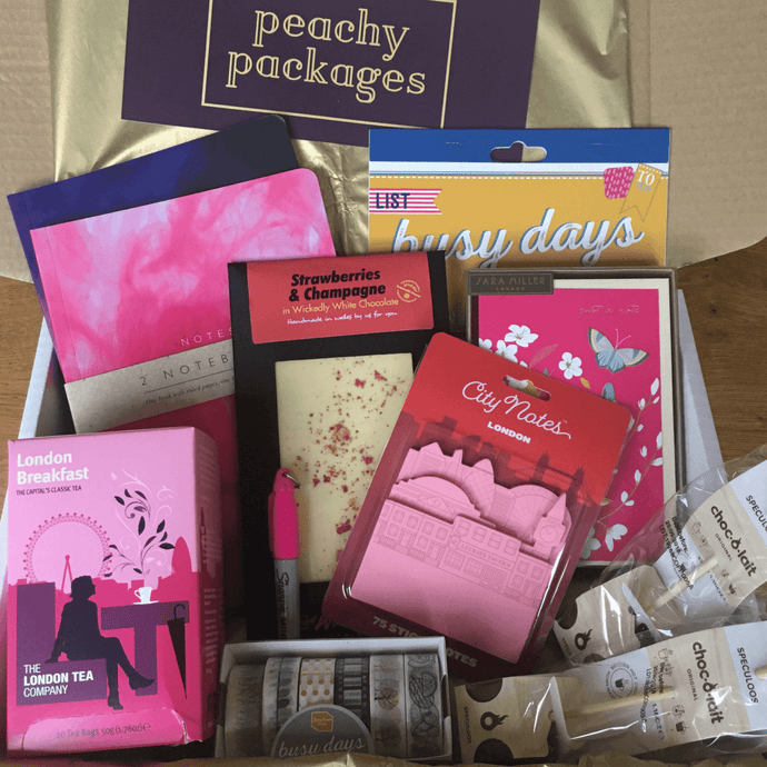December Peachy Packages with free UK P&P