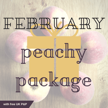 FEBRUARY peachy package