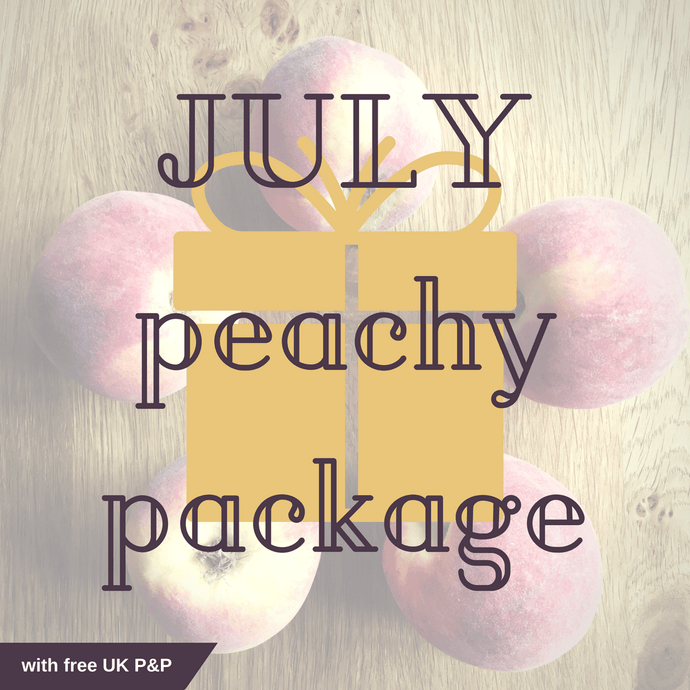 JULY peachy package