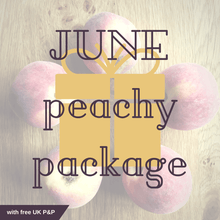 June Peachy Package with free UK P&P