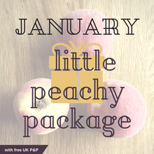 January little peachy package with free UK P&P
