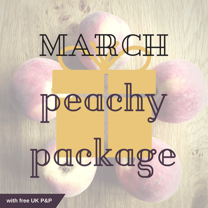 MARCH peachy package