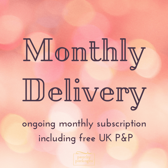 Monthly Peachy Package Subscription
