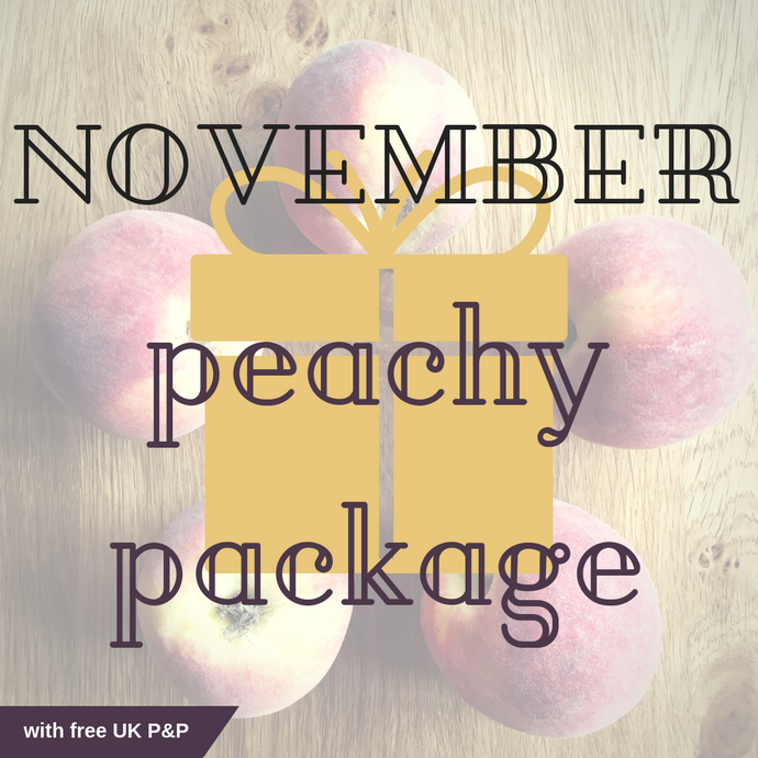 November Peachy Package including Free UK P&P