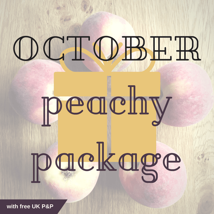 October Peachy Package with free UK P&P