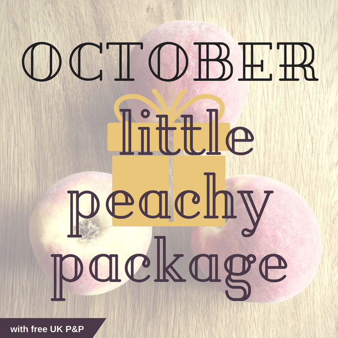 OCTOBER little peachy package