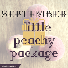SEPTEMBER little peachy package - Peachy Packages