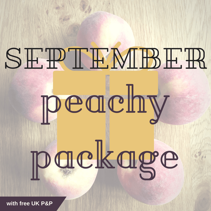 SEPTEMBER 2018 Peachy package