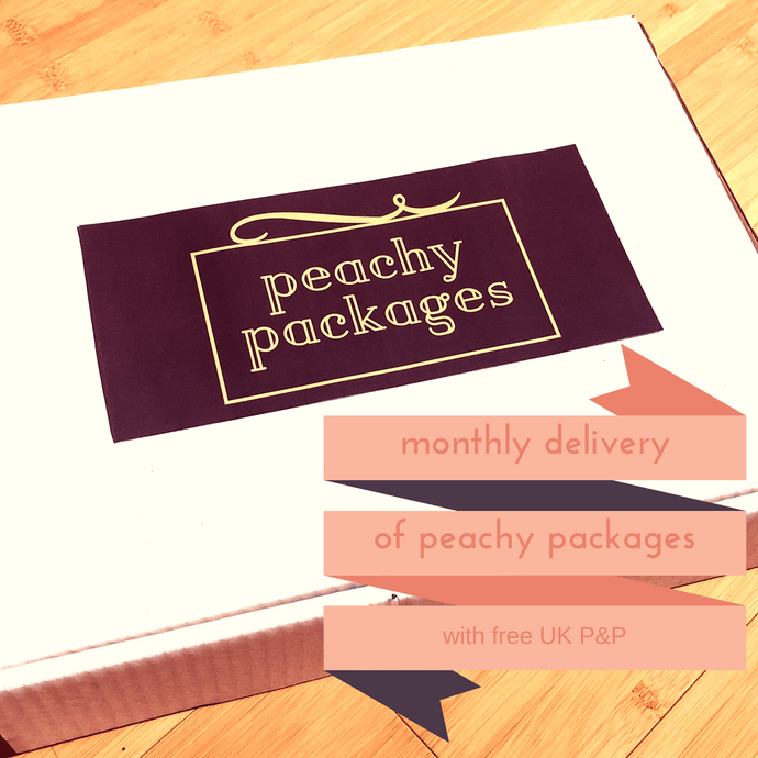 monthly PEACHY package subscription - Peachy Packages