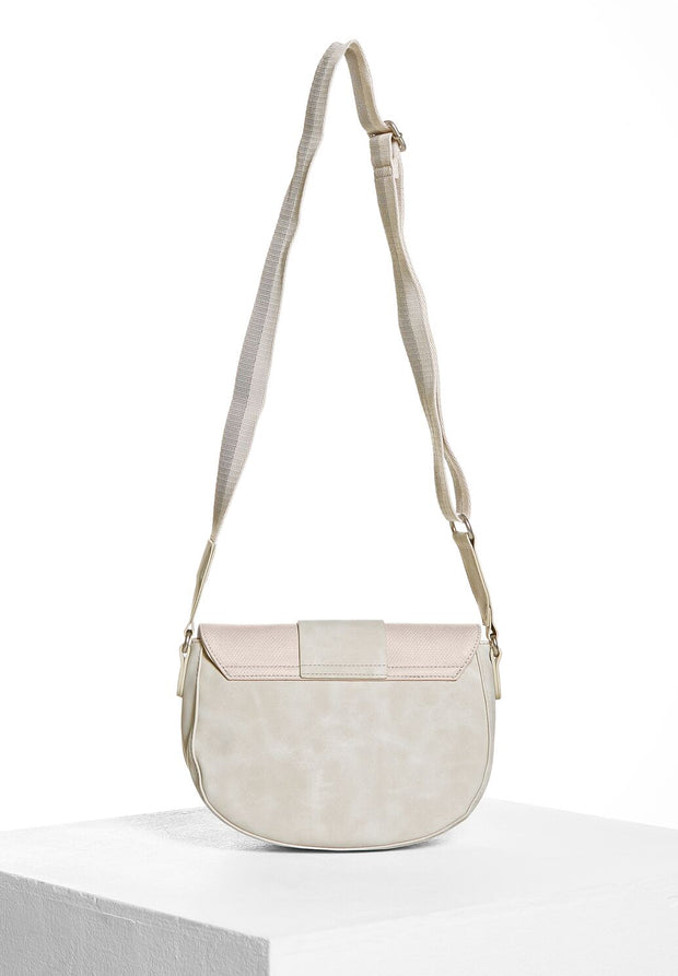 Street One - Saddlebag - Shell Cream