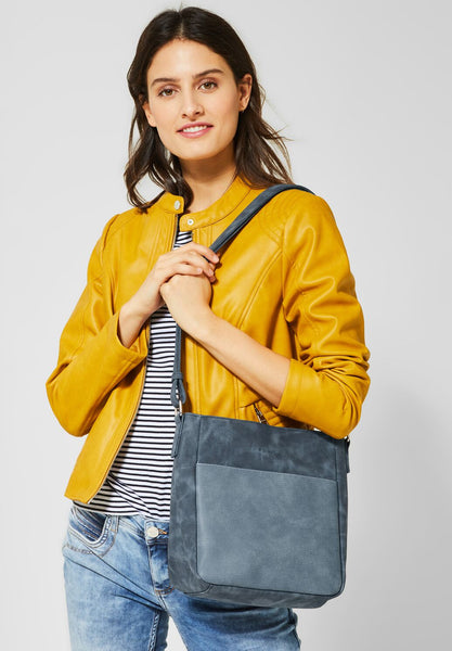 Street One - Crossbody bag - Rocky Blue