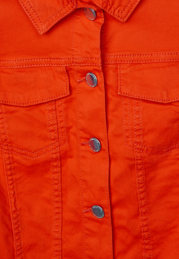 Street One - Orange jeansjacka