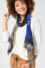 Street One - Snakeprint Scarf