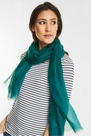 Street One - Scarf Teal Green