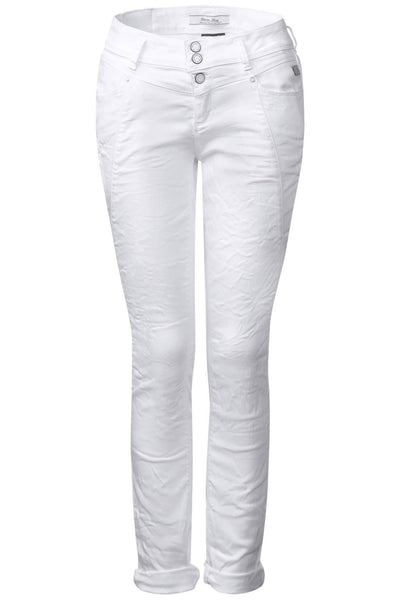 Loose-fit denim Rob - White