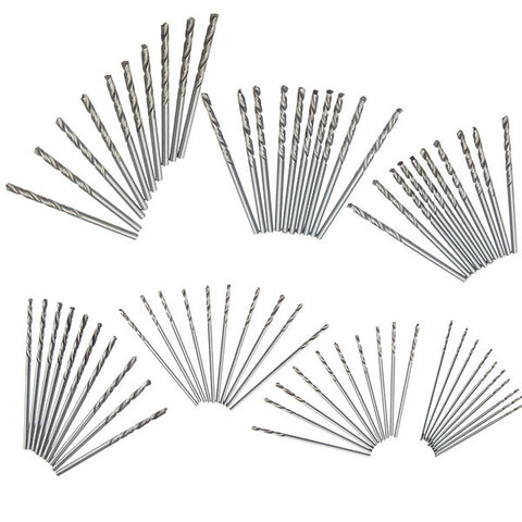 10pcs 0.9mm Straight Shank Micro HSS Twist Drilling Bit