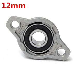 12mm Inner Diameter Zinc Alloy Pillow Block Flange Bearing KFL001
