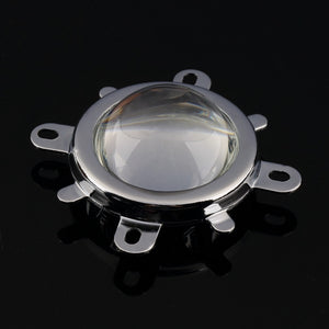 57mm Lens + 58mm Reflector Collimator Base Housing + Fixed bracket for 20W-100W LED Lights Lamp