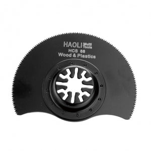 88mm Segment Saw Blade HCS Multi Cutter Oscillating Multitool