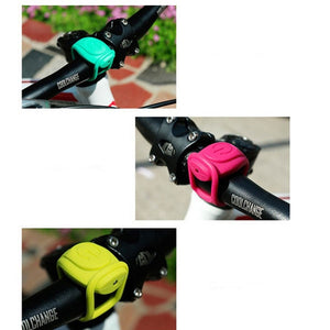 CoolChange Silica Gel Waterproof Bicycle Rear Tail Cycling Handlebar Warning LED Light Yellow & Red Light