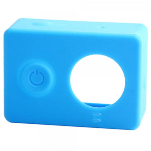 G-848 Protective Silicone Shell Case for Xiaomi Xiaoyi Digital Camera Blue