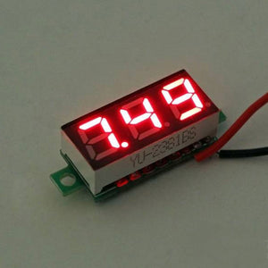Mini 0.28 inch DC 2.5-30V LED Display Digital Voltage Panel - Red
