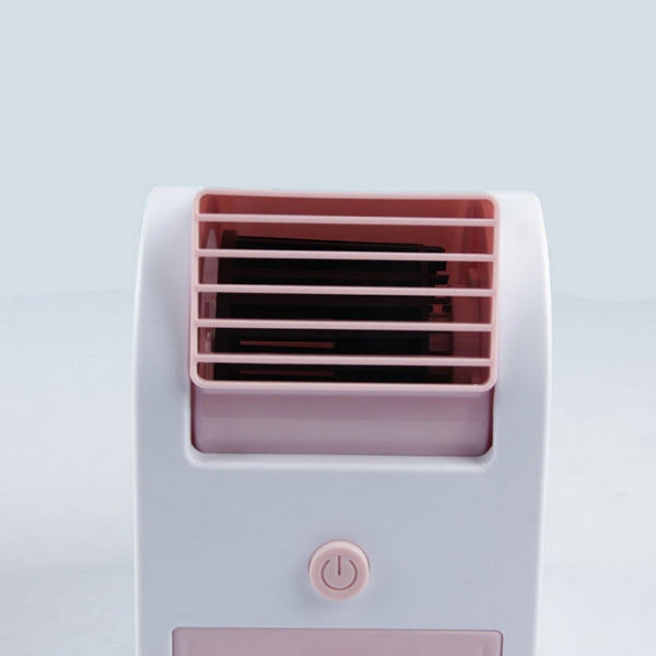 Portable Single Orifice USB Mini Cooling Fan Pink