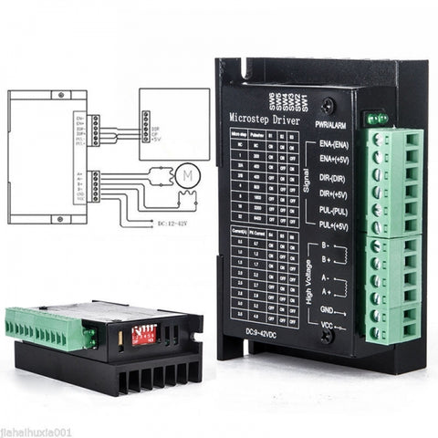 TB6600 Upgraded Version 32 Segments 4A 40V 57/86 Stepper Motor Driver Controller