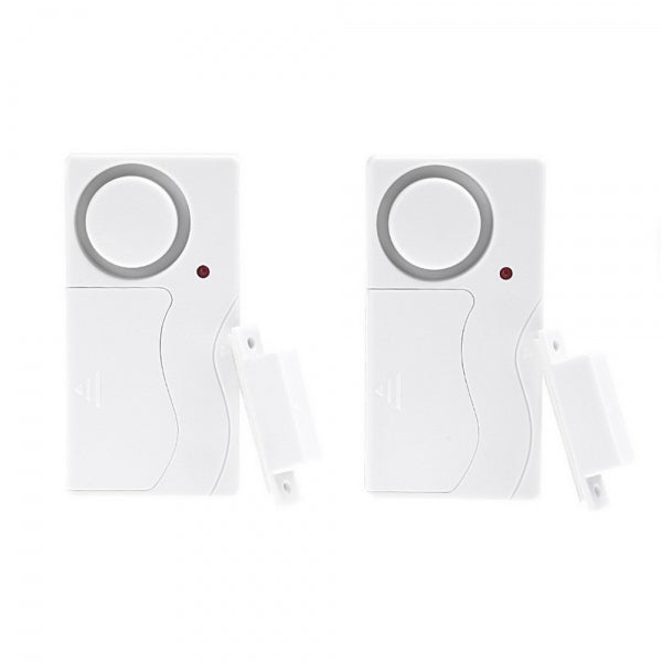 Wireless Remote Control Door Window Entry Alarm Warning System w/Magnetic Sensor for Home Security