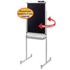 Justick by Smead Double Sided Promo Stand