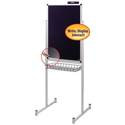 Justick by Smead, Dry-Erase Promo Stand with Clear Overlay